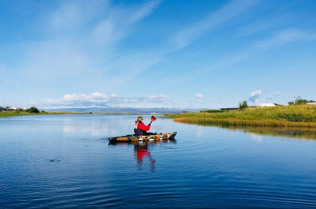 kayaking, kayakferð