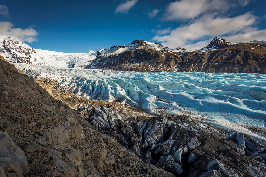 svinajokull glacier